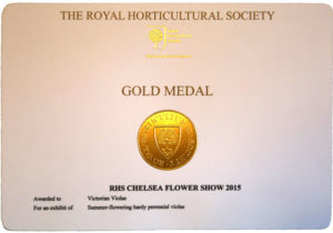 RHS Gold Medal Winner
